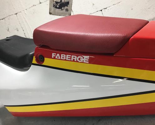 Faberge Motorradsitzbank Autosattlerei MASTO Essen