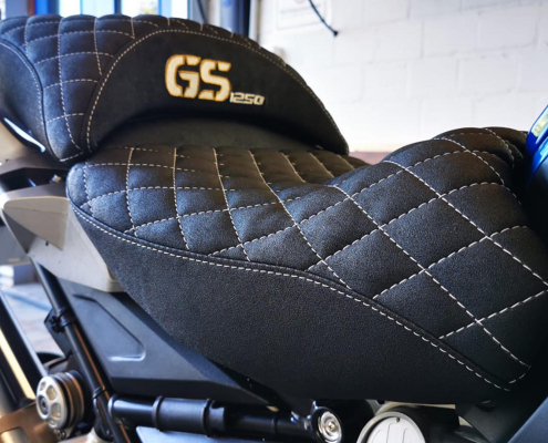 Motorradsitzbank GS 1250 abgesteppt Autosattlerei MASTO Essen